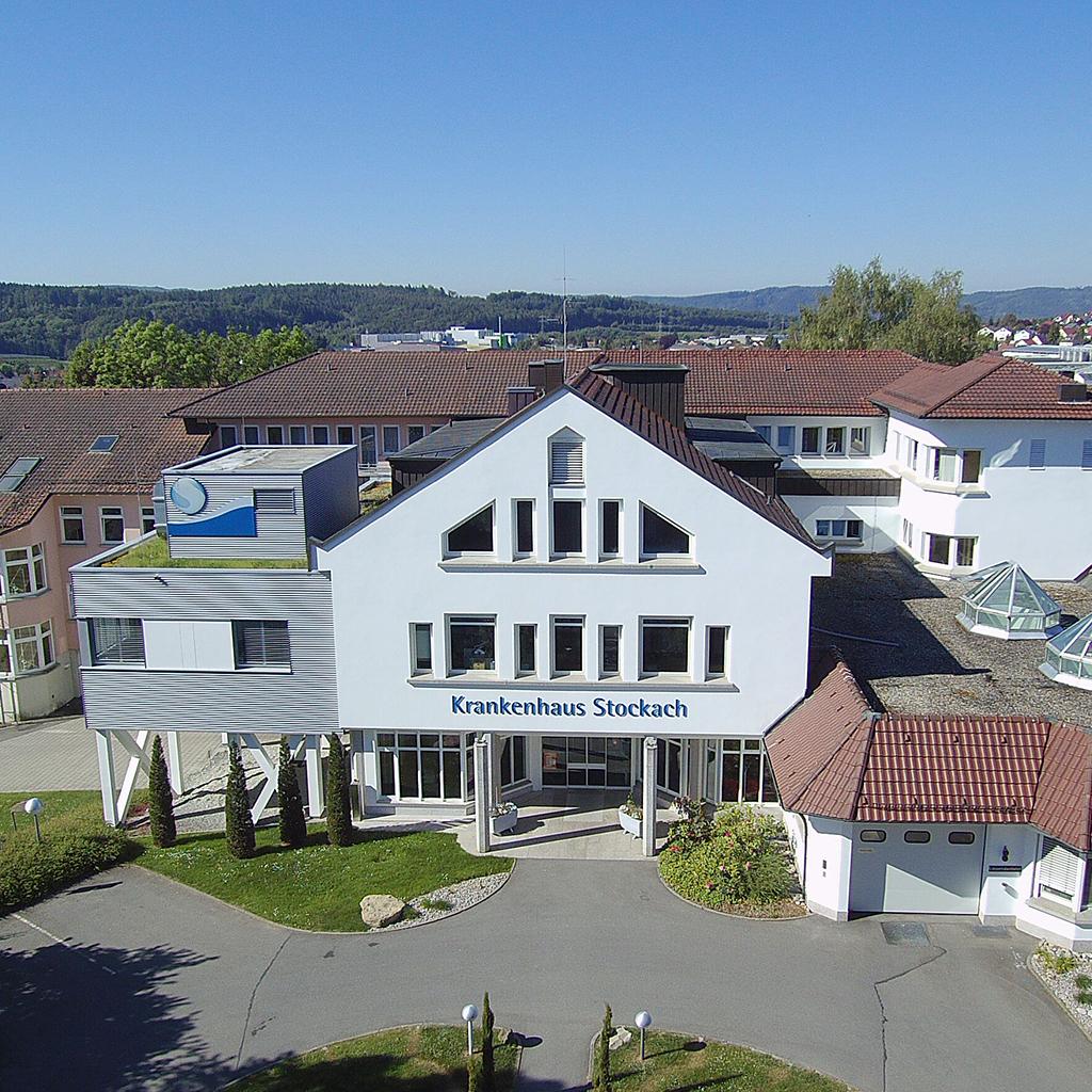 Gebäude des Krankenhaus Stockach